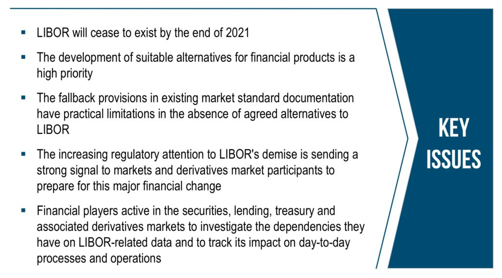 Key issues with LIBOR
